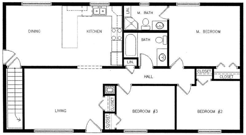 Sample house floor plans home design and style Bad floor plans examples